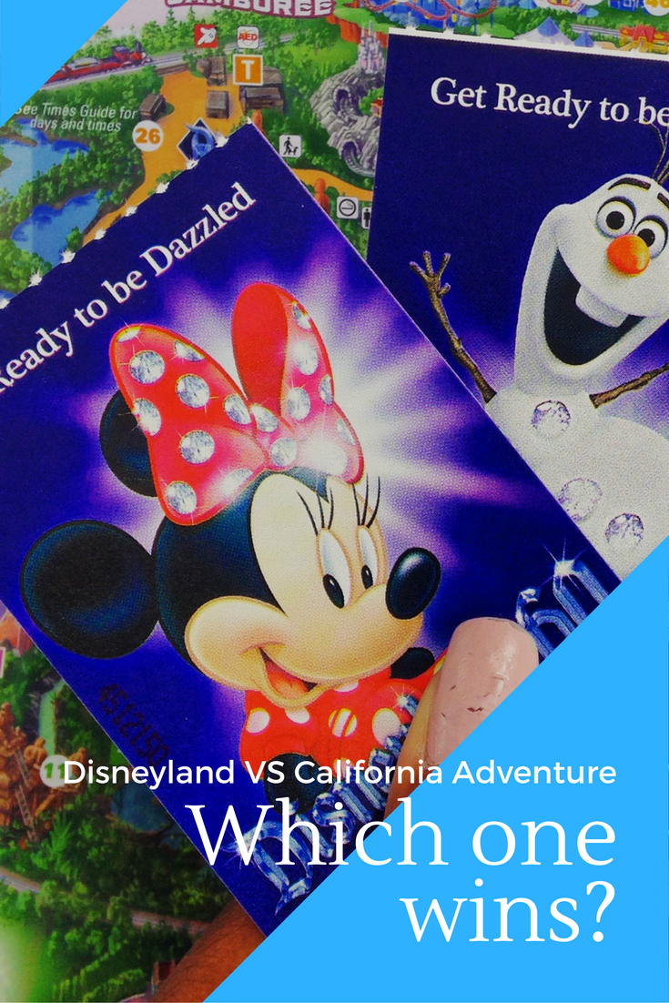 Disneyland or California Adventure Park - which one to choose?