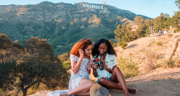 The Hollywood Sign is one of the Best Views LA. And it's free!