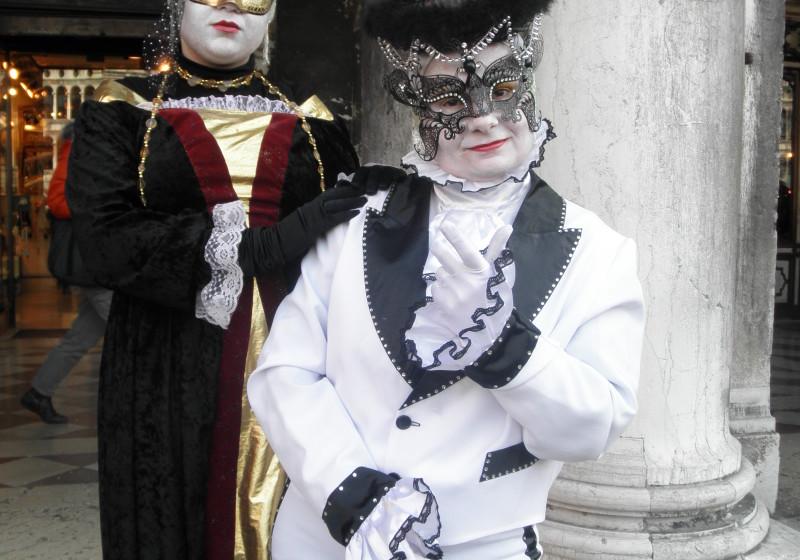 Celebrating Carnival in Venice!