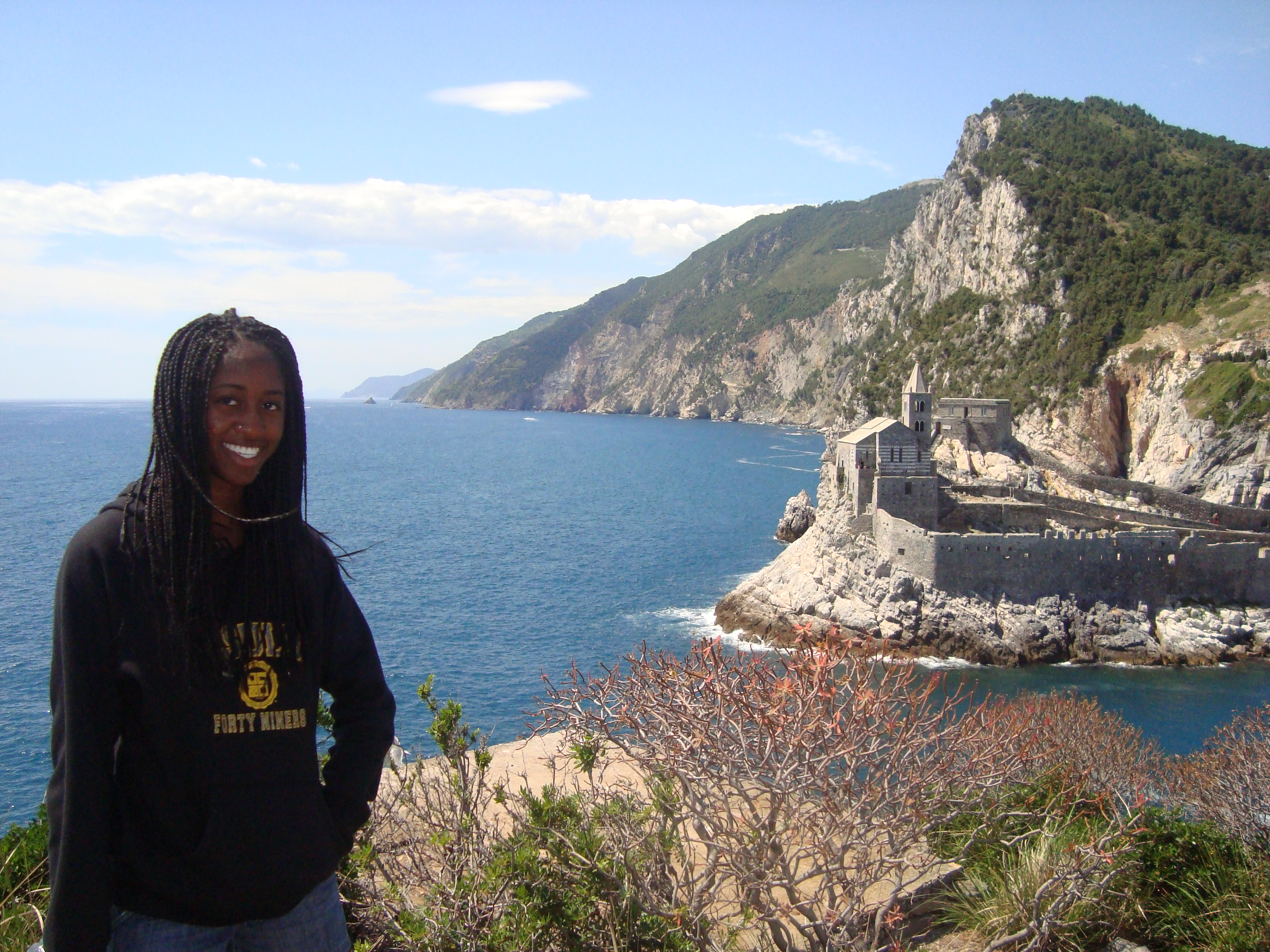 I studied abroad in a beautiful little town in Italy called Portvenere